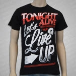 Tonight Alive Live It Up Black T-Shirt