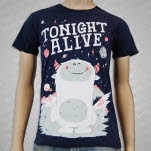 Tonight Alive Monster Navy T-Shirt