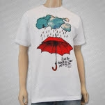 Tonight Alive Umbrella White T-Shirt