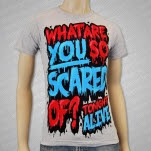 Tonight Alive What Are You Scared Of Red T-Shirt