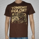 Tonight Is Glory See Speak Hear Nothing Brown T-Shirt