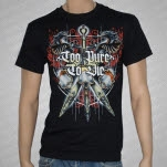 Too Pure To Die Swords Black T-Shirt
