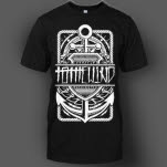 To The Wind Anchor Black T-Shirt