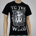 To The Wind Crest Black T-Shirt
