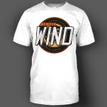 To The Wind Eye Crest White T-Shirt