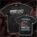 To The Wind Live Black T-Shirt