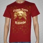Tragic Hero Records Lion Maroon T-Shirt