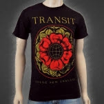 Transit FLower Black T-Shirt