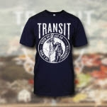 Transit Finger Noose Navy T-Shirt