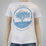 Transit Tree White T-Shirt