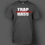 Trap and Bass Logo Charcoal T-Shirt