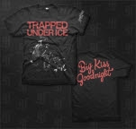 Trapped Under Ice Justice Black T-Shirt