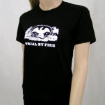 Trial By Fire Eagle Black T-Shirt