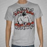 Triple Threat Straight Edge Athletic Gray T-Shirt
