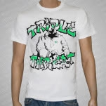 Triple Threat Straight Edge White T-Shirt