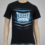 TRIXTER New Audio Machine Black T-Shirt