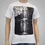 Troubled Coast Highway White T-Shirt
