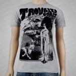 Troubled Coast Not My War Gray T-Shirt