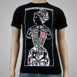 Troubled Coast Open Heart Black T-Shirt