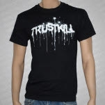 Trustkill Records Stencil Black T-Shirt