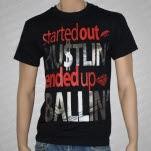 Umbrella Clothing Ballin Foil Black T-Shirt