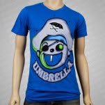 Umbrella Clothing Nibs Turquoise T-Shirt