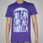 Umbrella Clothing Share My Umbrella Purple T-Shirt