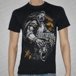 Underneath The Gun Knight Black T-Shirt