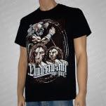Underneath The Gun Lions Black T-Shirt