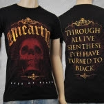 Unearth Eyes Of Black Black T-Shirt
