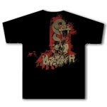 Unearth Snake and Skull Black T-Shirt