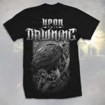 Upon This Dawning Crow Helmet Black T-Shirt
