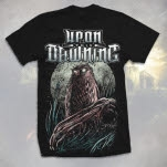 Upon This Dawning Owl Black T-Shirt