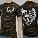 Upon This Dawning Stay Close Camo T-Shirt