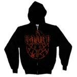 Vader Pentagram Black Hoodie Zip