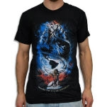 Venus Fallen Exclusive Black T-Shirt