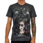 Venus Fallen Gravity Asphalt T-Shirt