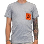 Venus Fallen Its Alive Heather Gray T-Shirt