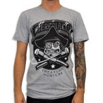 Venus Fallen Space Pirates Heather Grey T-Shirt