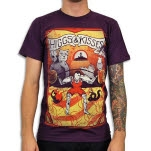 Venus Fallen Sideshow Science Purple T-Shirt