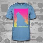 Very Americans Wolf Carolina Blue T-Shirt