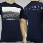 Volumes Graffiti Navy T-Shirt