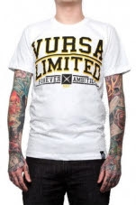 Vursa Limited Forever Ambitious White T-Shirt