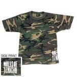 Walls Of Jericho Camo T-Shirt