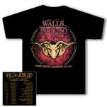 Walls Of Jericho Devils Tour Black T-Shirt