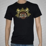 Walls Of Jericho Griffins Black T-Shirt
