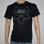 Walls Of Jericho Trustkill Pentagram Black T-Shirt