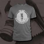War Generation Bomb Heather Grey T-Shirt