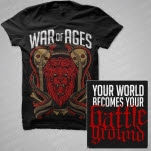 official War Of Ages Cobras Black T-Shirt
