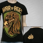 War Of Ages More Than Sound Black T-Shirt